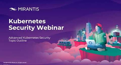 Introduction to Kubernetes Security