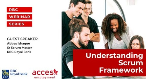 RBC Royal Bank Webinar | Understanding Scrum Framework