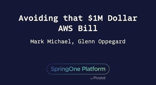Avoiding That $1M Dollar AWS Bill - Mark Michael, Glenn Oppegard