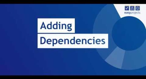 Adding Dependencies - Easy Projects Tutorial