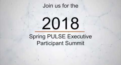 PULSE Executive Participant Summit 2018 - Orlando, Florida