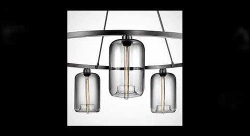 Niche Modern Chandeliers with Crystal Pendant Lights