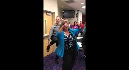 PHC Dance off PHC Admin
