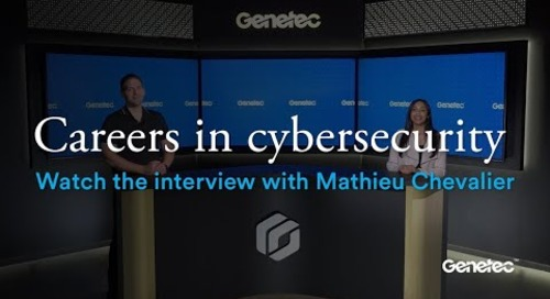 Cybersecurity Career Awareness Week - Interview with Mathieu Chevalier