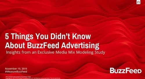 5 Things You Didn't Know About BuzzFeed Advertising