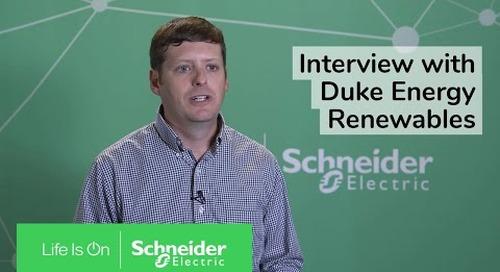Interview with Scott Macmurdo of Duke Energy Renewables   Schneider Electric