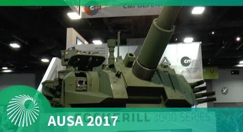 AUSA 2017: Cockerill 3000 modular turret