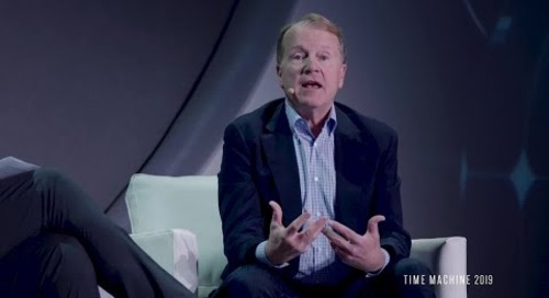 John Chambers | AI Will Disrupt the Traditional Enterprise - Time Machine 2019