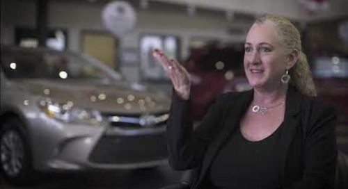 Testimonial | Lisa Diskin, Team Toyota