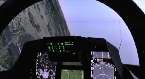 Indo Def 2016: Inside the Saab JAS-39 Gripen C Simulator