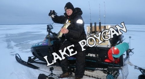 Lake Poygan Ice Fishing Report