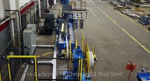 High Speed Accessory Rollforming Line with Integrated Transfer Table