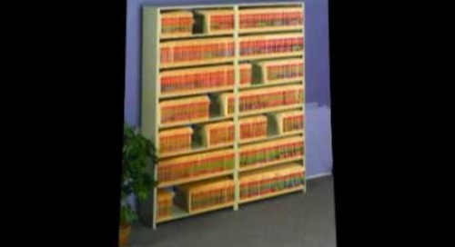 Mobile Shelving End Tab Filing Systems Austin Texas 512-336-1328
