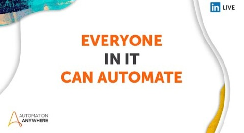 Everyone can Automate 2021 Day 3 - IT
