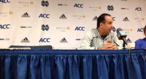 Mike Brey Press Conference (2-6-14)