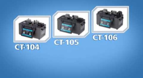 CT-104, CT-105 and CT-106 Automated Fiber Cleavers