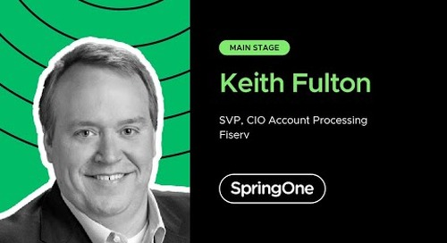 Keith Fulton at SpringOne 2020