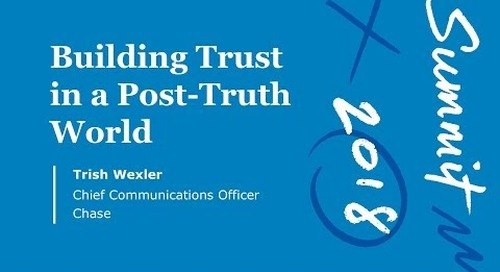 Building Trust in a Post-Truth World (Keynote Video)