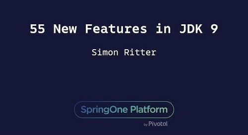 55 New Features in JDK 9 - Simon Ritter, Azul Systems