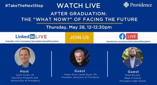 """After Graduation The """"What Now"""" of Facing the Future"""