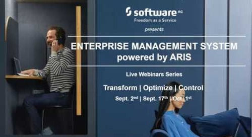 Webinar | Control your Business with an Enterprise Management System powered by ARIS