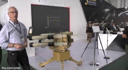 SOFEX 2016: JADARA Equipment & Defence Nashshab RPG-32 QUAD-1 ground-based launcher system