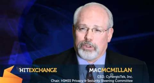 Security & Today's Healthcare System