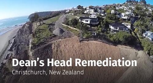 Dean's Head Remediation - Christchurch, New Zealand
