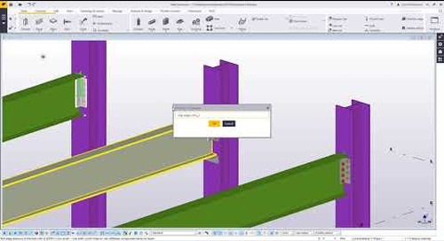 Published Attributes in Tekla Structures