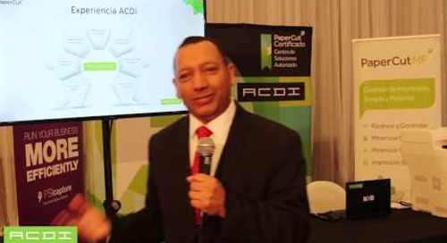 ACDI en ExpoPrint Ecuador