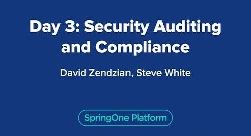 Day 3: Security Auditing and Compliance