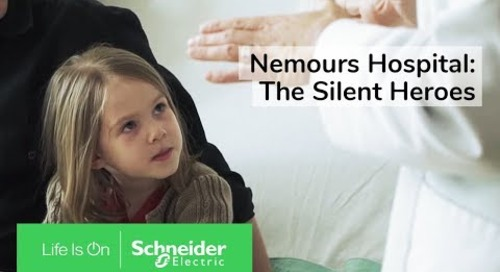 IoT EcoStruxure™ at Nemours Hospital Ensures Reliability