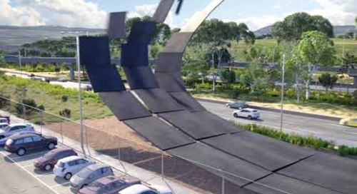 T4 Express Elevated Road to Melbourne Airport, Australia