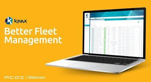 Better Fleet Management | ACDI Webinars