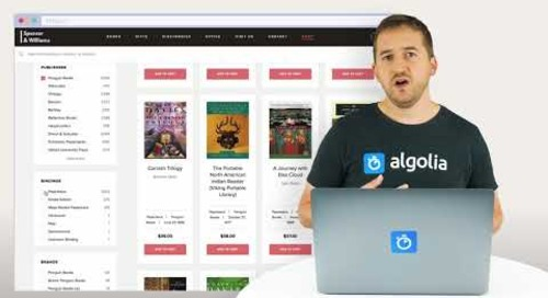 Algolia Build 101 - Front-end UI Libraries overview