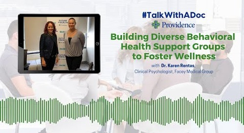 TWAD - Building Diverse Behavioral Support Groups