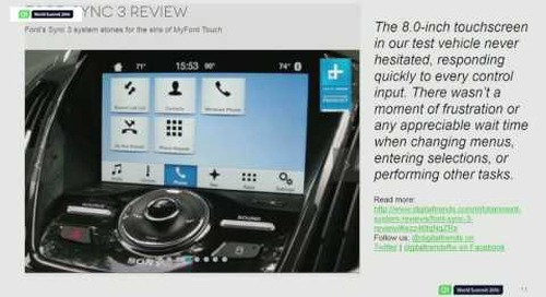 QtWS16- The future of Qt in Automotive and the Automotive Suite, Alistair Adams, The Qt Company