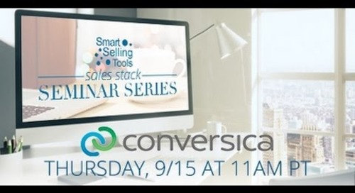 Sales Stack Seminar Series: Ben Chaib on Conversica