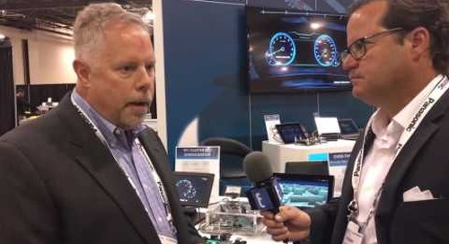 Mentor Graphics booth interview at TU Automotive Detroit 2016