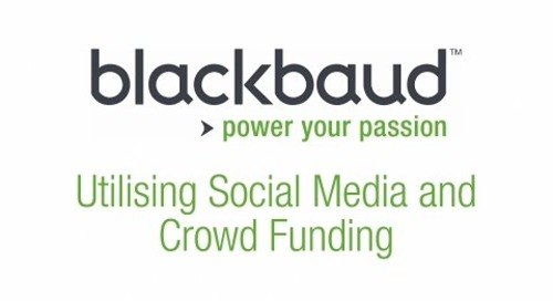 Education Institutions: Using Social Media and Crowdfunding