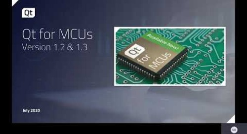 What is Qt for MCUs