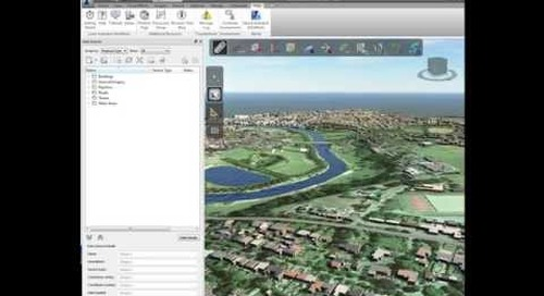 Autodesk InfraWorks: Base Data for Projects
