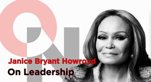 Embrace Your Intelligence | Janice Bryant Howroyd | FranklinCovey clip