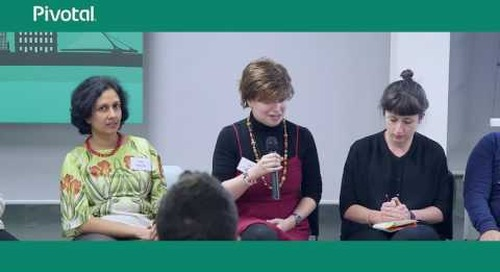 Panel Discussion about Implicit Bias in Technology | Pivotal London