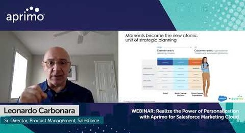 Aprimo + Salesforce: Humanize Every Single Interaction