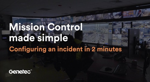 Configuring an incident in Mission Control in less than 2 minutes