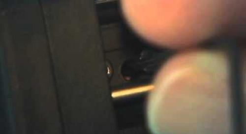 CT-30 Series Fiber Cleaver Maintenance - Blade Rotation