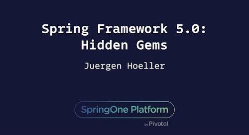 Spring Framework 5: Hidden Gems - Juergen Hoeller