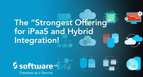 See the 'Strongest Offering' for iPaaS and Hybrid Integration