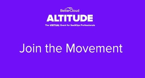 [ALTITUDE20 Keynote] Join The Movement